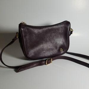 Etienne Aigner Oxblood Crossbody Vintage Bag